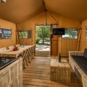 Niederländische Nordsee: 4 Tage im eigenen Safarizelt im 4* Ferienpark ab 53€ p.P.
