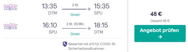 8 Tage Kroatien Flug