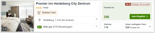 Heidelberg Angebot