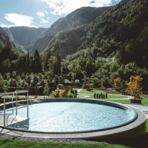 Italien Meran Prinz Rudolf Pool