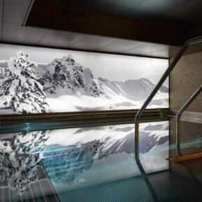 Wellnessauszeit in Davos: 3 Tage zur Winterzeit im TOP 5* Hotel mit Halbpension für 283€