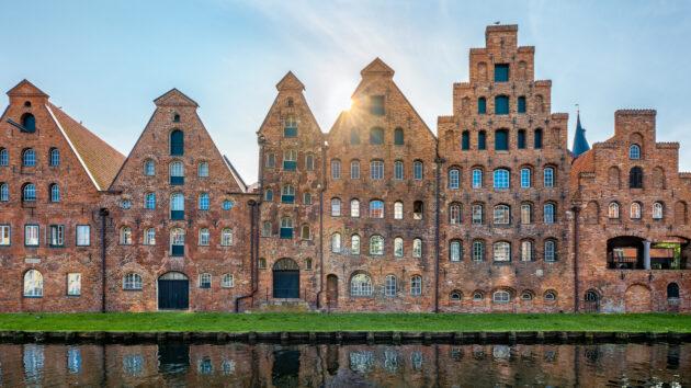 Deutschland Lübeck Salzspeicher