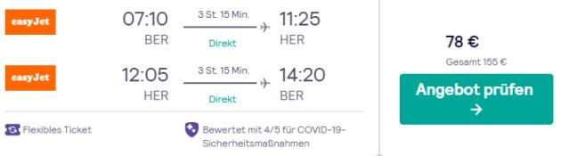 Flug Berlin Heraklion