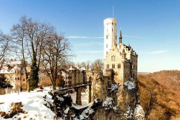 Schloss Lichtenstein Winter