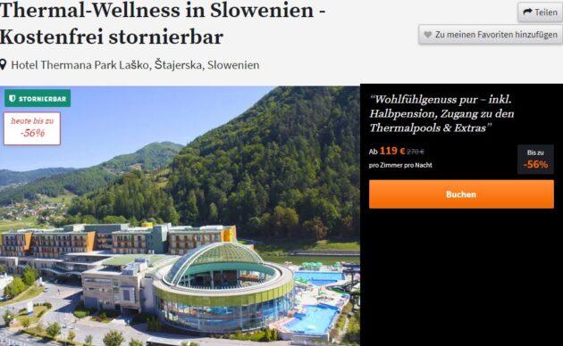 3 Tage Slowenien Therme