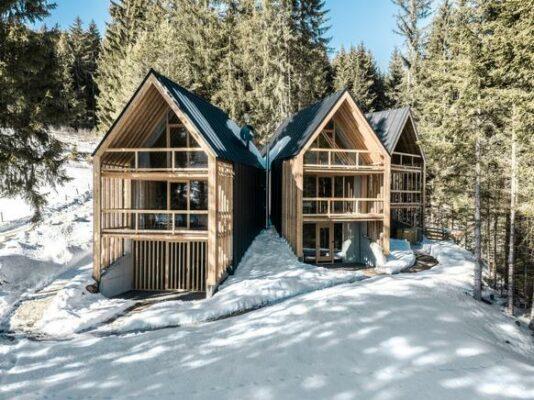 Südtirol Ferienhaus Meransen aussen