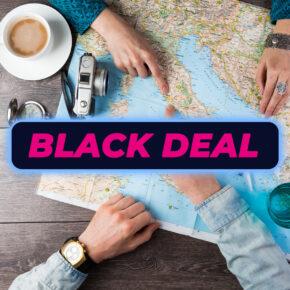 BLACK DEAL: Neues Urlaubs-Gadget: Faltbare Drohne mit Kamera für 33€
