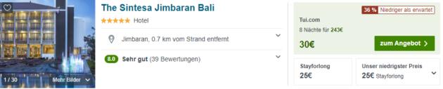 8 Tage Bali