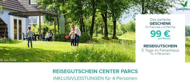 Center Parcs Gutschein