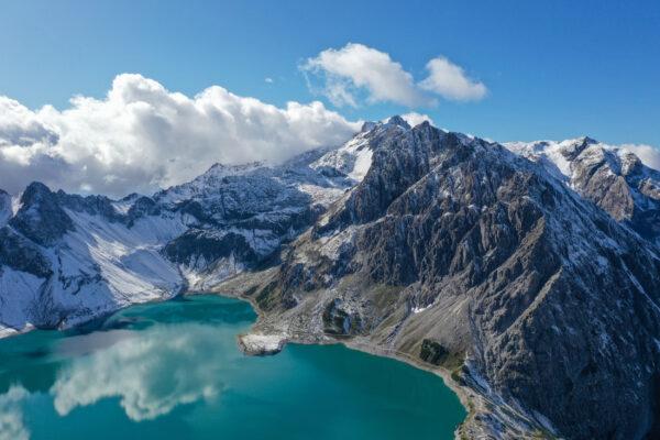 Österreich Vorarlberg Lünersee