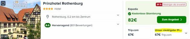 2 Tage Rothenburg