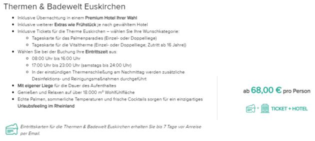 Therme Euskirchen Angebot