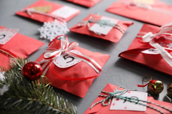 Weihnachten Adventskalender Geschenk