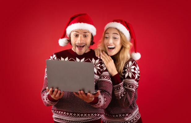 Weihnachten Gewinn Preis Digital