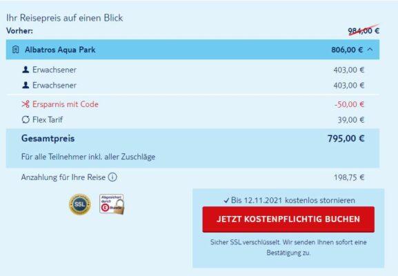 Albatros Aqua Park Deal