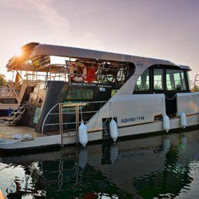 Meck-Pomm: 8 Tage exklusives Hausboot auf der Müritz mit vielen Extras nur 305€ // Termine ab 2021