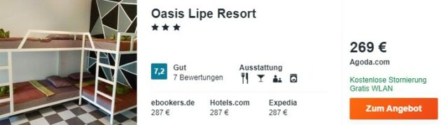 Oasis Lipe Resort