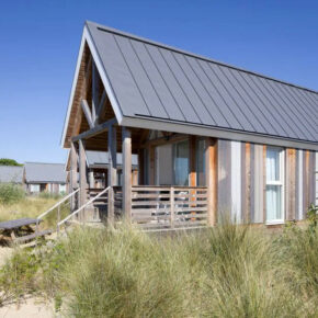 Urlaub mit Strand- & Meerblick: 5 Tage Nordsee in toller Beach Lodge ab 69€ p.P.