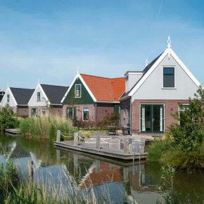 Ferienpark nahe Amsterdam: 3 Tage mit eigenem Ferienhaus am Wasser nur 43€ p.P.