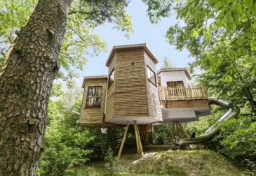 Baumhaus-Urlaub: 5 Tage Center Parcs im eigenem Baumhaus mit Rutsche ab 248€
