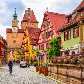 Deutschland Rothenburg Stadtmitte