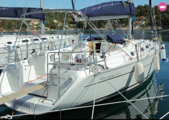 Segelboot Beneteau Cyclades