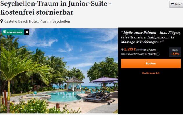 Seychellen 8 Tage