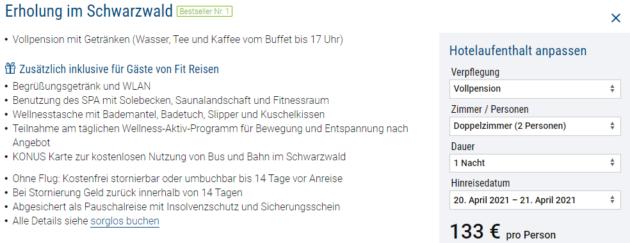 2 Tage Schwarzwald
