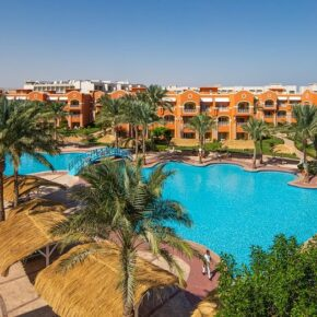 Caribbean World Resorts Soma Bay Ägypten Anlage