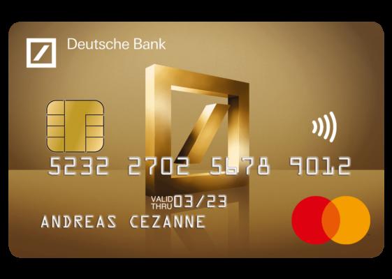 Deutsche Bank Mastercard Gold
