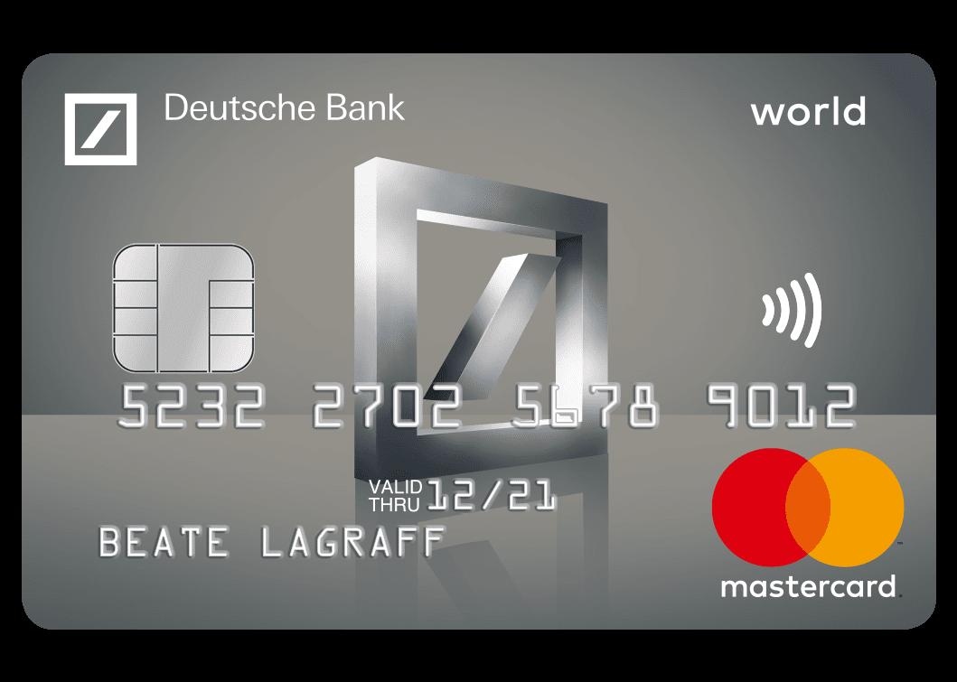 Deutsche Bank Mastercard Platin