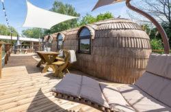 See-Oase: 3 Tage im schwimmenden Iglu inkl. Frühstück, Sauna & Extras für 55€