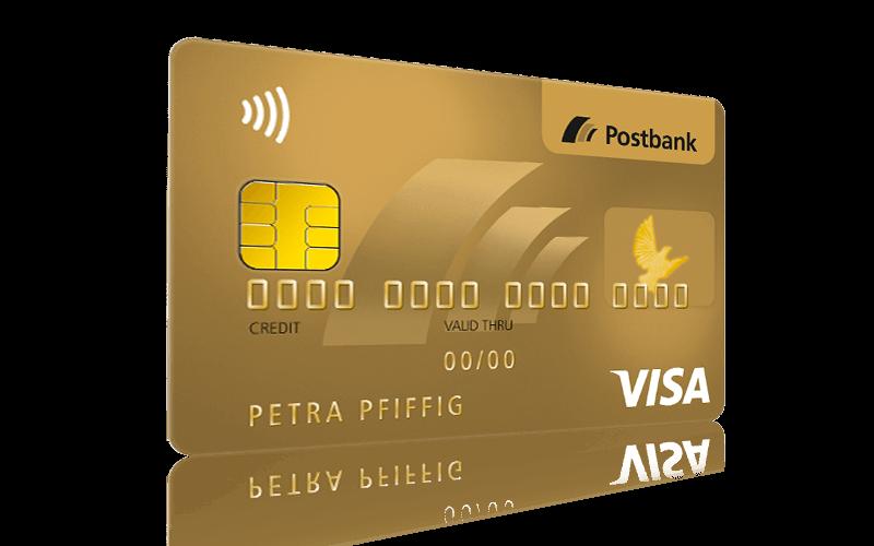 Postbank Visa Card Gold