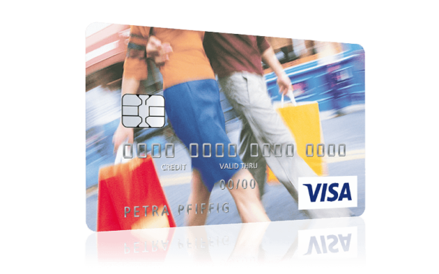 Postbank Visa Card Shopping