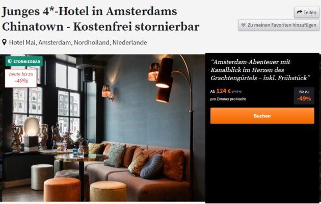 Screenshot 2 Tage Amsterdam Hotel
