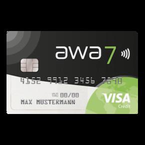 awa7® Kreditkarte: Vor- & Nachteile im Überblick