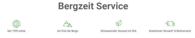 Bergzeit Service