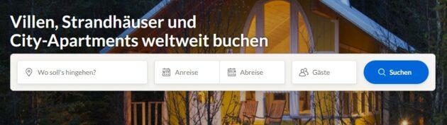 FeWo-direkt Startseite