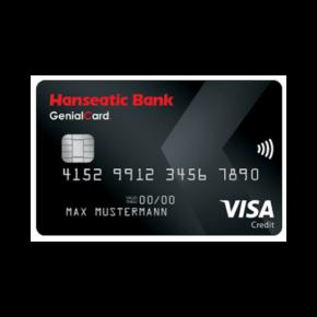 Hanseatic Bank GenialCard: Alle Vor- & Nachteile