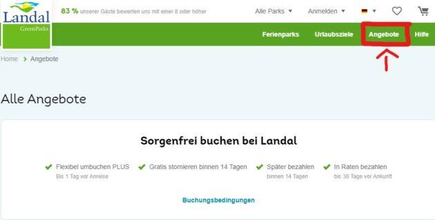 Landal GreenParks Angebote