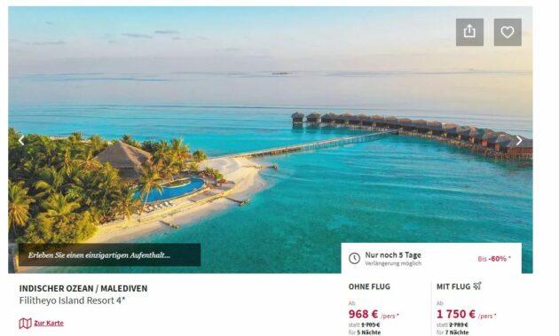 Malediven All Inclusive Deal