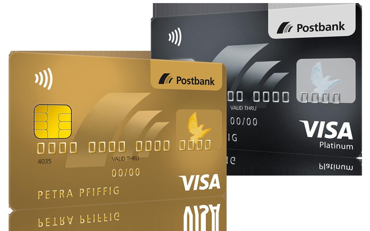 Postbank Kreditkarten