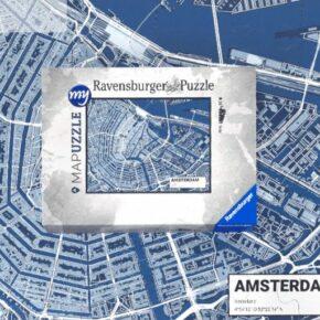 Puzzelt Euer liebstes Urlaubsziel! Personalisiertes Stadtplan Puzzle von Ravensburger ab 19,90€