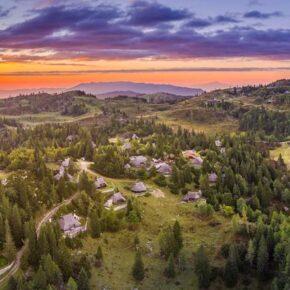 Slowenien Almhütte Chalet