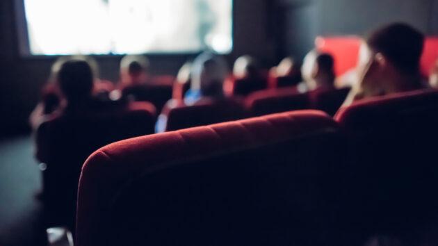 Theater Saal Menschen Gruppe Sitzplatz