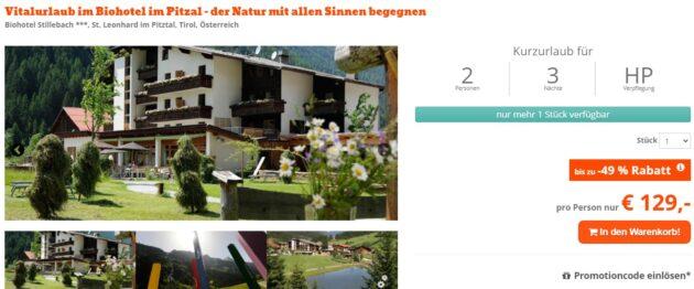 Biohotel Tirol