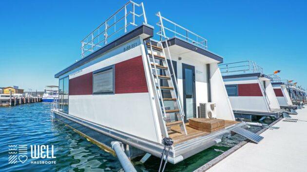 WELL Hausboot floating 33 comfort