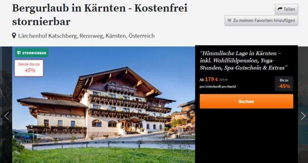 2 Tage Wellness Österreich