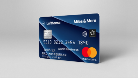 Miles & More Credit Card Blue Business