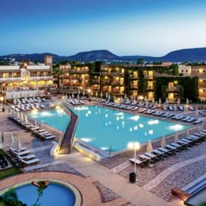 Traumhaftes 5* Hotel auf Kreta: 7 Tage mit All Inclusive, Flug & Zug nur 560€